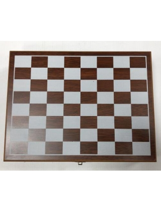 Набор подарочный Шахматы и фляжка с аксессуарами