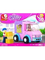 Конструктор Розовая мечта фургон