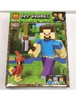 Конструктор Bela Minecraft 11166