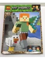Конструктор Bela Minecraft 11167