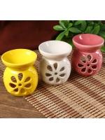 Аромалампа керамика Цветик-семицветик 8,5 х 8 х 8 см
