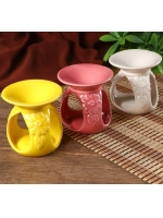 Аромалампа керамика Цветок пустыни 8,5 х 8 х 8 см