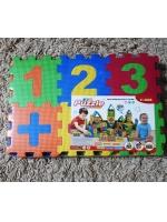 Набор коврик пазл детский Математика