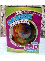 Головоломка 3Д Шар-лабиринт на 200 дорожек Maze Ball