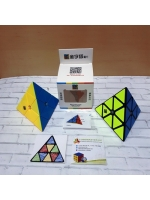 Скоростная Пирамидка MoYu MoFangJiaoShi Pyraminx