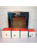 Набор скоростных кубиков Moyu MoFangJiaoShi MeiLong Gift Box 2х2-5х5