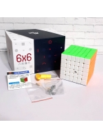 Скоростной кубик Рубика YJ MGC 6X6