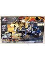 Конструктор 69003 Jurassic World Транспорт для перевозки Ти-Рекса