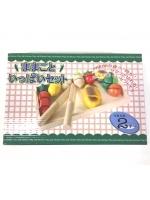 Нарезка деревянная фрукты овощи на липучках