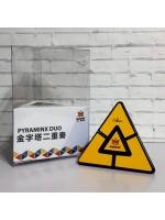 Скоростная головоломка MoYu Mefferts Pyraminx Duo