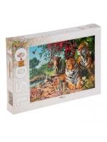 Настольная игра Пазл Тигры 1500 элементов