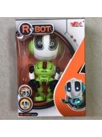 Интерактивный Робот Литой Metal Robot зеленый