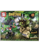 Конструктор Dinosaur 1508 Динозавр Трицератопс