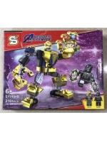 Конструктор Heroes Assemble Мстители SY1484B Танос Трансформер