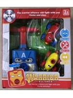 Инерционная машинка Warrior Alliance движения с помощью воздушных шаров