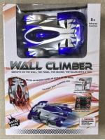 Антигравитационная Машинка Wall Climber ездит по стенкам и по потолку на радиоуправлении два режима