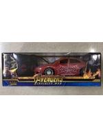 Машинка модель Мстители Avengers на радиоуправлении 1:24 модель Человек паук красный