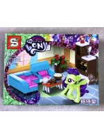 Конструктор SY1459B My Little Pony Пони зеленая Флора