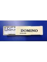 Игра настольная Домино в пластиковом боксе простые