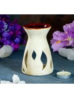 Аромалампа керамика Вдохновение шликерная 8 см х 8 см х 12 см
