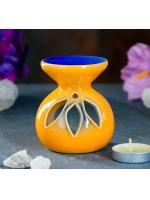 Аромалампа керамика Малая 7 см х 7 см х 8 см