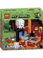 Конструктор Bela Minecraft Нижний мир