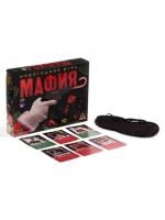 Настольная игра новогодняя Мафия с масками 52 карты