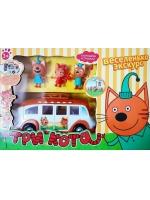 Игровой набор автобус для пикника Три кота