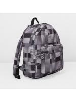 Рюкзак молодёжный на молнии 1 отдел наружный карман серый 72+