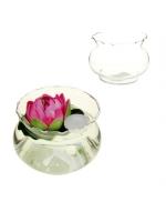 Подсвечник чаша ваза для плавающих свечей и декора