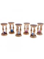 Часы песочные Три колонны малые 10-15 секунд