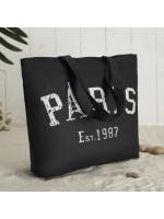 Сумка женская летняя Париж черная