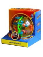 Головоломка 3Д Шар-лабиринт на 100 дорожек Maze Ball 13 см