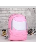 Рюкзак молодёжный Классика 1 отдел 2 наружных и 2 боковых кармана розовый