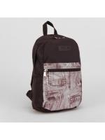 Рюкзак молодёжный на молнии 1 отдел наружный карман джинсовый карман
