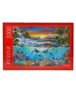 Настольная игра Пазл Подводная жизнь 1000 элементов