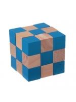 Головоломка Игры разума Куб Горгоны синий