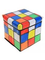 Пуф складной 30х30х30 см  Кубик Рубика
