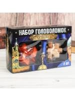 Головоломка деревянная Рюриковичи 2 шт в наборе