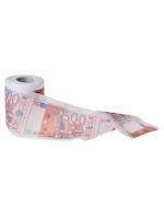 Туалетная бумага 500 евро подарочная
