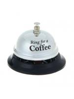 Звонок настольный Кофе 5,5 х 8,5 х 8,5 см