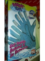 Перчатки с щетками на кончиках Magic Bristle Gloves