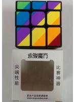 Скоростной кубик Рубика YongJun 3х3 InequilaTeral Зеркальный