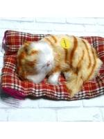 Кошечка на подстилке игрушка
