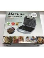 Электрическая вафельница Masima MS1051 Бельгийские вафли