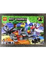Конструктор Lari Minecraft Драконы №11267