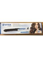 Спиральные щипцы плойка для завивки волос Vitek VT-5377