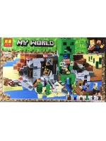 Конструктор Lari Minecraft Шахта крипера №11363