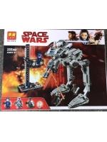 Конструктор LARI 10912 Star Wars Вездеход AT-ST Первого Ордена аналог LEGO Star Wars 75201