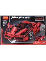 Конструктор Decool 3382A Аналог Lego Technic 8653 Гоночный автомобиль Enzo Ferrari